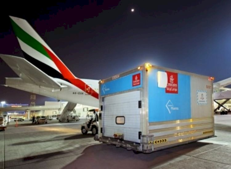 Emirates carries first batch of Pfizer Covid-19 vaccine to Dubai