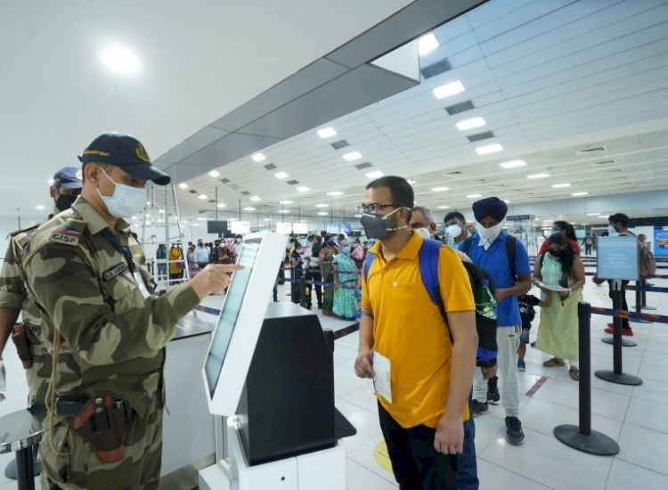 Delhi airport turns to tech to reclaim reputation dented by lax social distancing