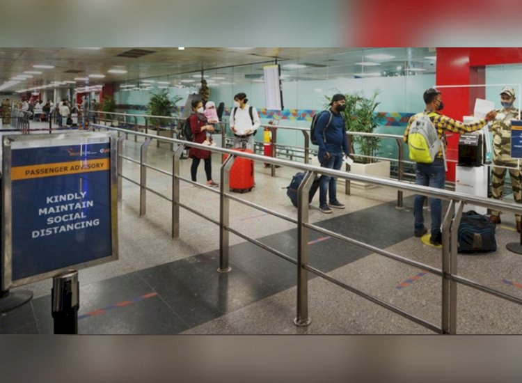 Flying to Delhi from Covid-surge states? Get ready for random tests at airport