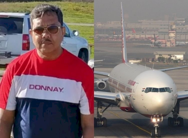 Air India's Covid hero who died fighting for India gets emotional farewell